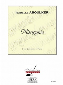 Aboulker: Misogynie SSTB published by Leduc