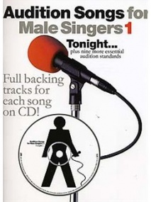 Audition Songs for Male Singers 1 Book & CD published by Wise