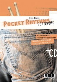 Pocket Rhythms For Drums published by AMA Verlag
