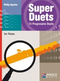 Sparke: Super Duets for flutes published by Anglo Music