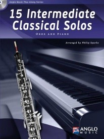 15 Intermediate Classical Solos for Oboe Book & CD published by Anglo