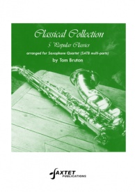 Classical Collection for Saxophone Quartet published by Saxtet
