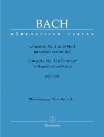Bach: Concerto for Keyboard No.1 in D minor (BWV 1052) published by Barenreiter