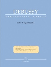 Debussy: Suite Bergamasque for Piano published by Barenreiter