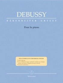 Debussy: Pour le Piano published by Barenreiter