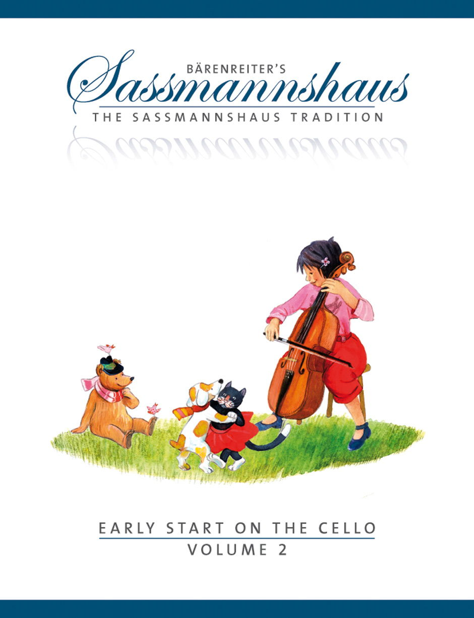 Sassmannshaus Cello Method: Early Start on the Cello - Book 2 published by Barenreiter