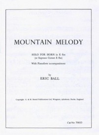 Mountain Melody by Ball for Tenor Horn published by R Smith