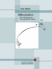 Hoeller: Mikroludien for Piano published by Bote & Bock