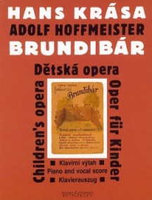 Krasa: Brundibar - Opera for Children published by Bote & Boch - Vocal Score