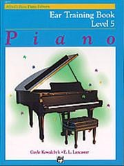 Alfred's Basic Piano Course: Ear Training Book 5