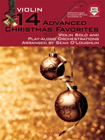 14 Advanced Christmas Favourites for Violin published by Fischer (Book & Online Audio)