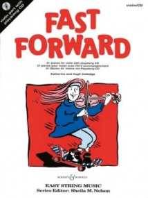 Fast Forward for Violin & CD published by Boosey and Hawkes