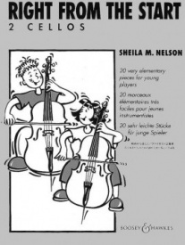 Nelson: Right from the Start for Two Cellos published by Boosey & Hawkes