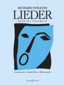 Strauss: Lieder Volume 4 Orchestral Songs published by Boosey & Hawkes