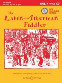 Latin American Fiddler Violin Edition Book & CD published by Boosey and Hawkes
