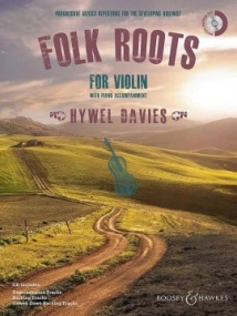 Folk Roots for Violin Book & CD published by Boosey & Hawkes