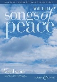 Todd: Songs of Peace published by Boosey & Hawkes - Vocal Score