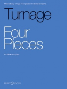Turnage: Four Pieces for Clarinet published by Boosey & Hawkes