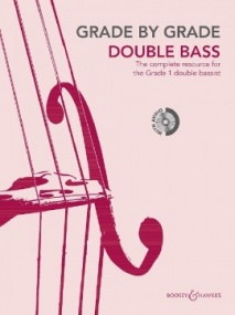 Grade by Grade for Double Bass - Grade 1 - Book & CD published by Boosey & Hawkes