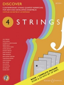 4 Strings - Discover (Score & Parts with CD) published by Boosey & Hawkes