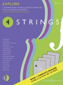 4 Strings - Explore (Score & Parts with CD) published by Boosey & Hawkes