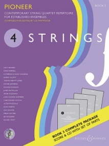 4 Strings - Pioneer (Score & Parts with CD) published by Boosey & Hawkes