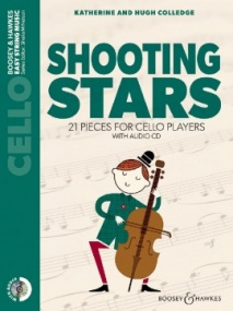 Shooting Stars for Cello & CD published by Boosey and Hawkes