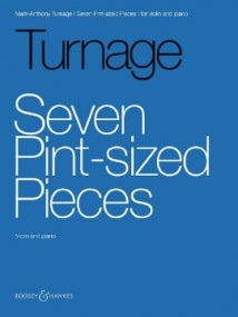 Turnage: Seven Pint-sized Pieces for Violin published by Boosey & Hawkes