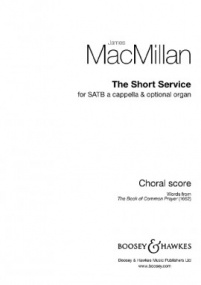 MacMillan: The Short Service published by Boosey & Hawkes