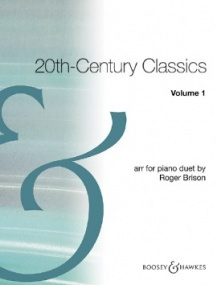 20th Century Classics Volume 1 for Piano Duet published by Boosey and Hawkes