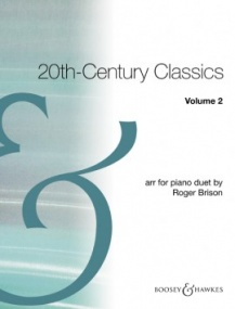 20th Century Classics Volume 2 for Piano Duet published by Boosey and Hawkes