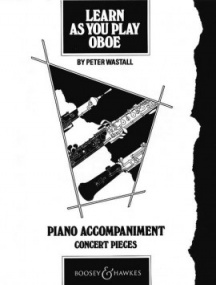 Learn As You Play Piano Accompaniments for Oboe published by Boosey and Hawkes