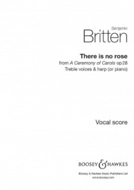 There is no rose SSS by Britten published by Boosey & Hawkes