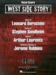 West Side Story - Vocal Score by Bernstein published by Boosey and Hawkes