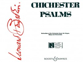 Bernstein: Chichester Psalms (Reduced Orchestration) published by Boosey and Hawkes - Set of Parts