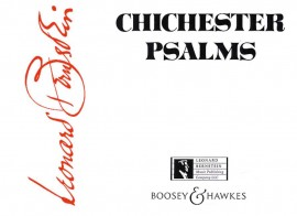 Bernstein: Chichester Psalms (Reduced Orchestration) published by Boosey and Hawkes - Conductor Score