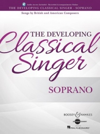 The Developing Classical Singer - Soprano Book & Online Audio published by Boosey & Hawkes