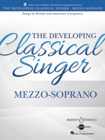 The Developing Classical Singer - Mezzo-Soprano Book & Online Audio published by Boosey & Hawkes
