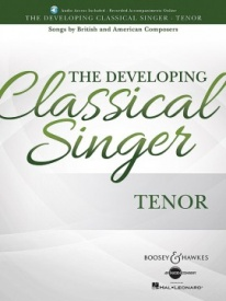 The Developing Classical Singer - Tenor Book & Online Audio published by Boosey & Hawkes