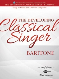 The Developing Classical Singer - Baritone Book & Online Audio published by Boosey & Hawkes