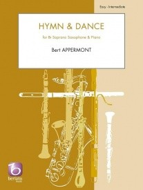 Appermont: Hymn & Dance for Soprano Saxophone published by Beriato