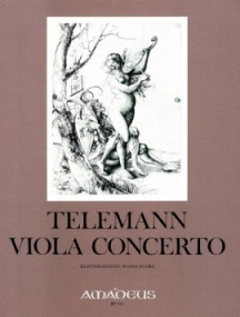 Telemann: Concerto in G TWV51:G9 for Viola published by Amadeus