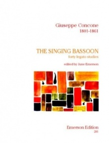 Concone: The Singing Bassoon published by Emerson