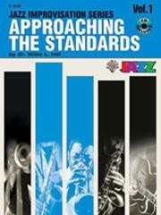 Approaching the Standards Volume 1 in Bb Book & CD published by Warner