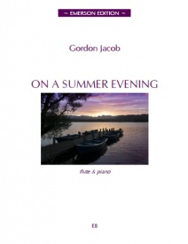 Jacob: On A Summer Evening for Flute published by Emerson