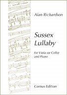 Richardson: Sussex Lullaby for Viola published by Comus