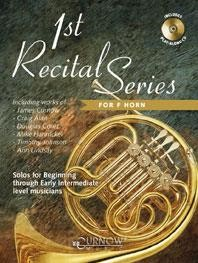 1st Recital Series for Horn in F published by Curnow