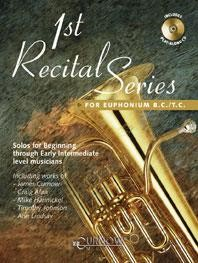 1st Recital Series for Euphonium  published by Curnow