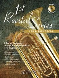 1st Recital Series for Bb Bass Book & CD published by Curnow