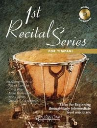 1st Recital Series for Timpani published by Curnow